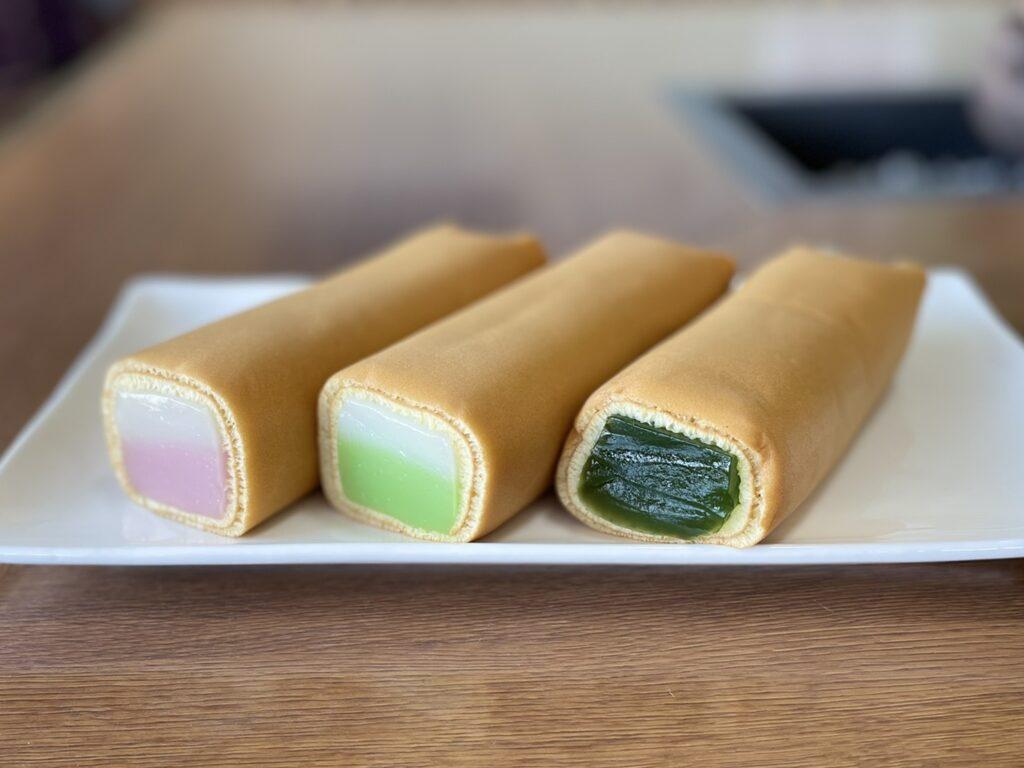 くず巻(桜)、わらび巻セット 3本箱入