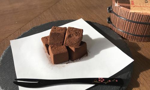 生チョコわらび餅