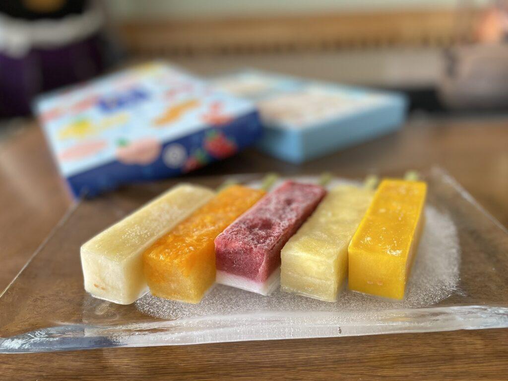 葛ごおりフルーツ10本セット